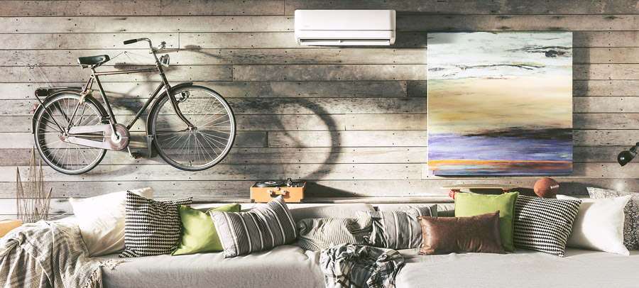 install a ductless split system to avoid hot and cold spots in your home