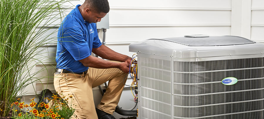 Air Conditioner tune-up from technician